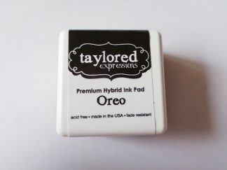 Taylored Expressions Premium Hybrid Waterproof Ink Pad Oreo