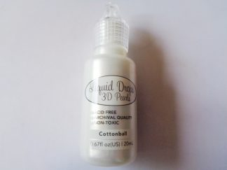 Ultimate Crafts Liquid Drops 3D Pearls Cottonball