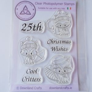 A6 Clear Photopolymer Cool Critters Stamp Set