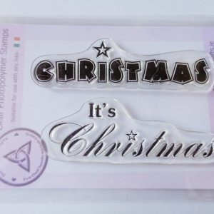 It's Christmas A7 Clear Photopolymer Stamp Set