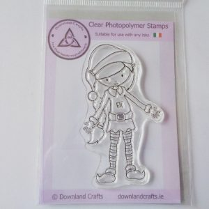 Elf Ollie A7 Clear Photopolymer Stamp