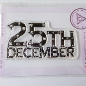 25th December A7 Clear Photopolymer Stamp