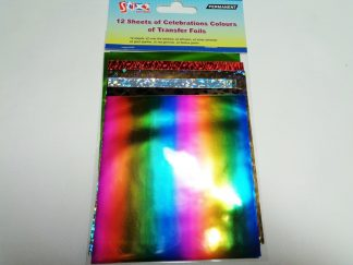 Transfer Foil Sheets Celebrations (12 sheets)