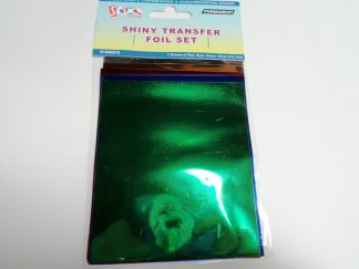 Transfer Foil Sheets Shiny 1 (10 sheets)