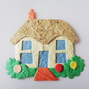 Pack of 4 Home Sweet Home Die Cut Toppers