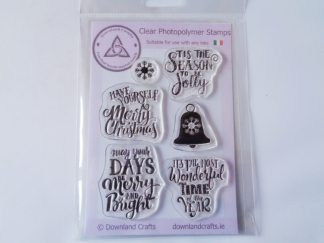 Sentimental Christmas A6 Clear Photopolymer Stamp Set