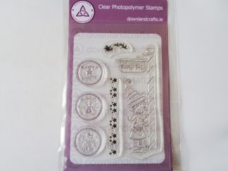 A6 Clear Photopolymer North Pole Stamp Set