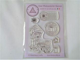 Elf Workshop Stamp Set - A6 Clear Photopolymer