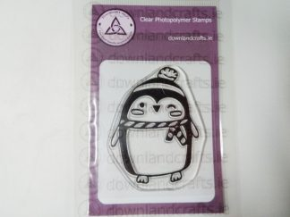 Pauric the Penguin A7 Clear Photopolymer Stamp