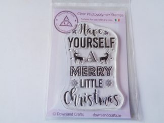 Little Christmas A7 Clear Photopolymer Stamp