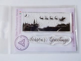 Season's Greetings Scene A7 Clear Photopolymer Stamp Set