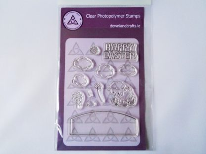 Happy Easter Stamp Set A6 C;ear Photopolymer