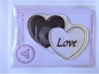 Love Hearts Stamp - A7 Clear Photopolymer