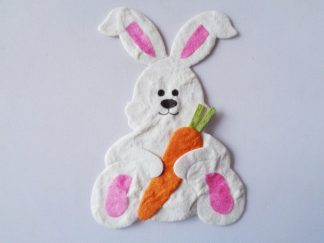 Pack Of 5 Easter Bunny Die Cuts