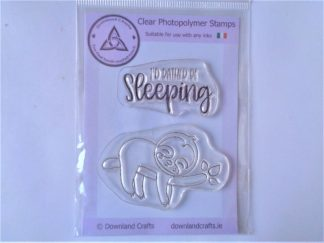 I'd Rather Be Sleeping A7 Clear Photopolymer Stamp Set
