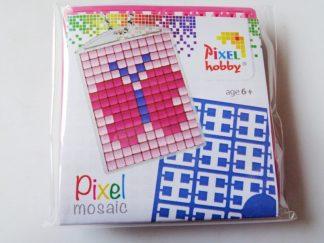 Butterfly Pixelhobby Keyring Kit
