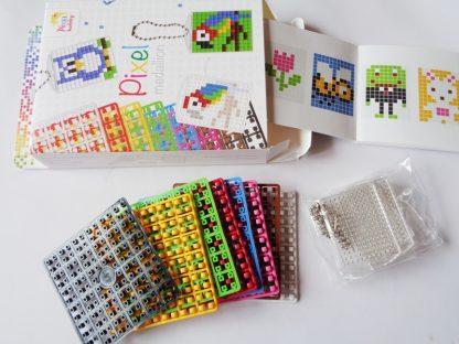 Pack of 3 Freestyle Pixelhobby Keyring Kits