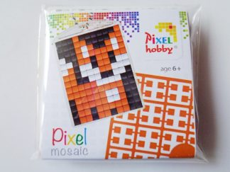 Fox Cub Pixelhobby Keyring Kit