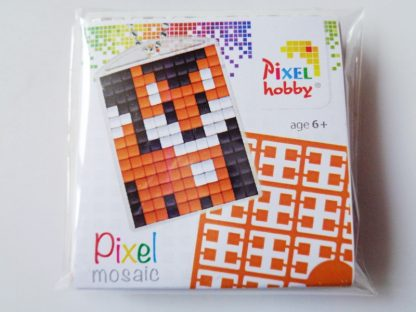 Fox Cub Pixelhobby Keyring Kit