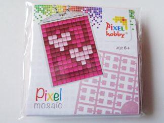 Hearts Pixelhobby Keyring Kit