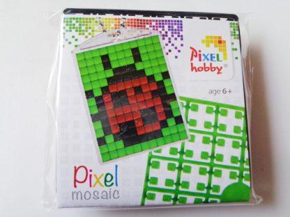 Ladybird Pixelhobby Keyring Kit
