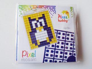 Owl Pixelhobby Keyring Kit