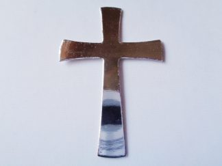 Pack of 5 Silver Cross Die Cuts