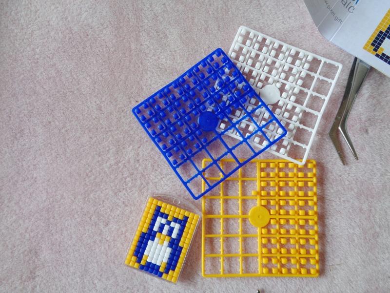 How To Make A Pixelhobby Mini Mosaic Keyring