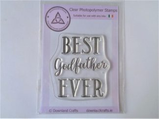 Best Godfather A7 Clear Photopolymer Stamp