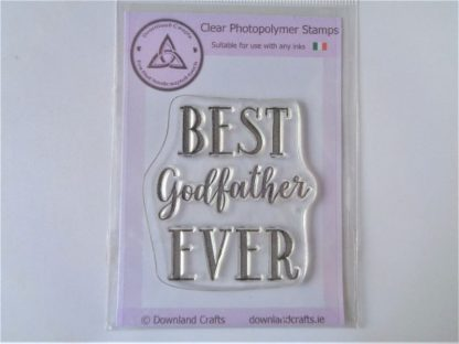Best Godfather Stamp - A7 Clear Photopolymer