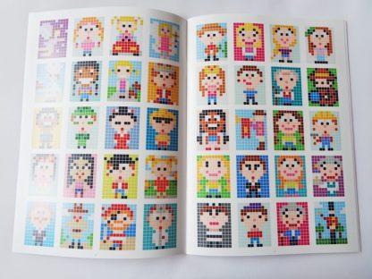 A5 Pixelhobby Keyring Pattern Booklet