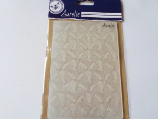 Fish Bones A6 Background Embossing Folder