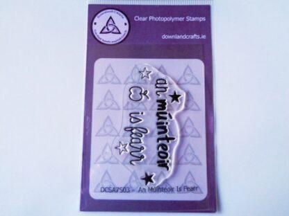 An Múinteoir Is Fearr Stamp - A7 Clear Photopolymer