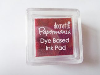 Deep Red Papermania Dye Based Mini Ink Pad