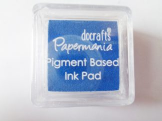 Blue Papermania Pigment Mini Ink Pad