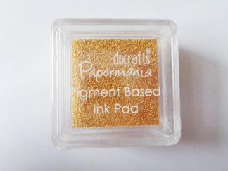 Golden Amber Papermania Pigment Mini Ink Pad