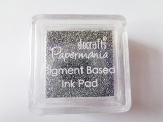 Silver Grey Papermania Pigment Mini Ink Pad