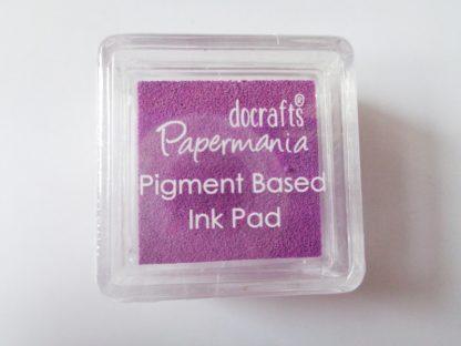 Violet Papermania Pigment Mini Ink Pad