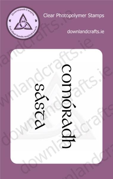 Comóradh Sásta A7 Clear Photopolymer Stamp