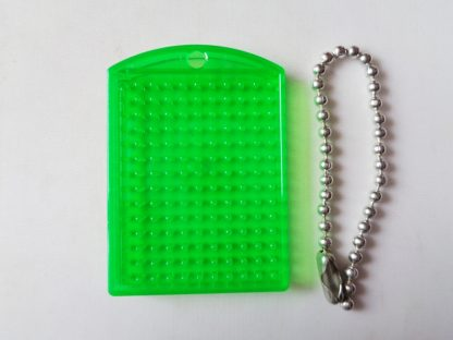 Green Pixelhobby Keyring Baseplate With Chain