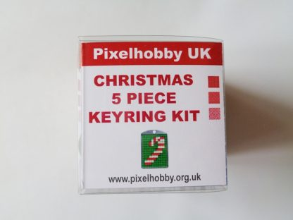 Christmas Pixelhobby 5 Keyring Kit