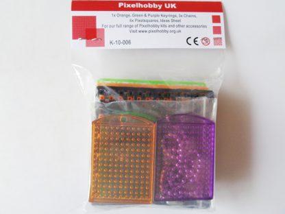 Halloween Pixelhobby 3 Keyring Kit