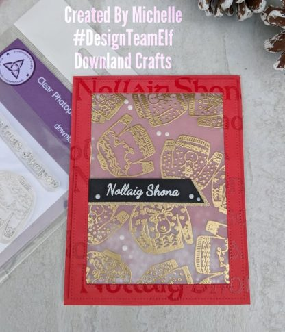 Christmas Jumper Stamp Set Card Sample 2