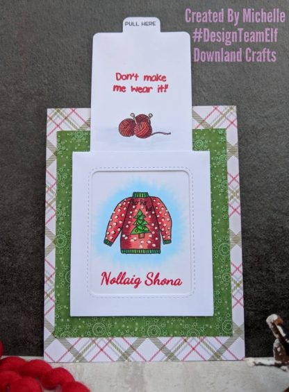 Christmas Jumper Stamp Set Card Sample 3c