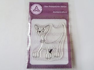 Goth Cat A7 Clear Photopolymer Stamp