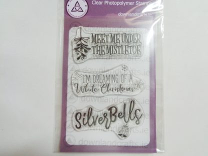 Silver Bells A6 Clear Photopolymer Stamp Set