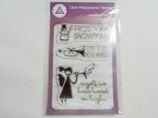 Festive Glory A6 Clear Photopolymer Stamp Set