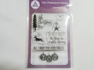Christmas Wishes A6 Clear Photopolymer Stamp Set