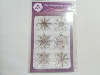 Winter's Kisses A6 Clear Photopolymer Stamp Set