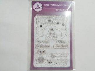 Deck The Halls A6 Clear Photopolymer Stamp Set
